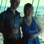 Bethan & Alex at Sky Tower