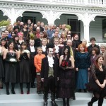 Danielle & Lawrence - a 'Goth' wedding at Alberton