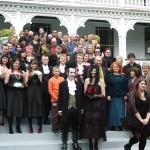 Danielle & Lawrence - a 'Goth' wedding at Alberton