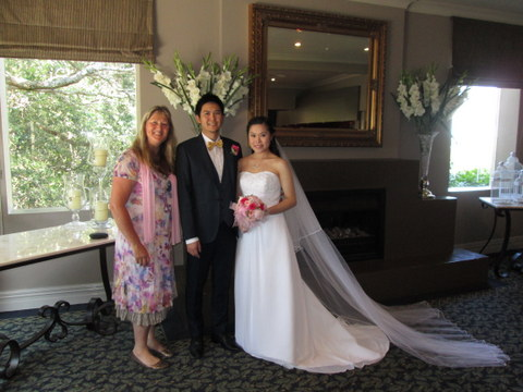 West Auckland Wedding Celebrant Kumeu
