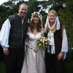 Lisa & Campbell - a Medieval Wedding
