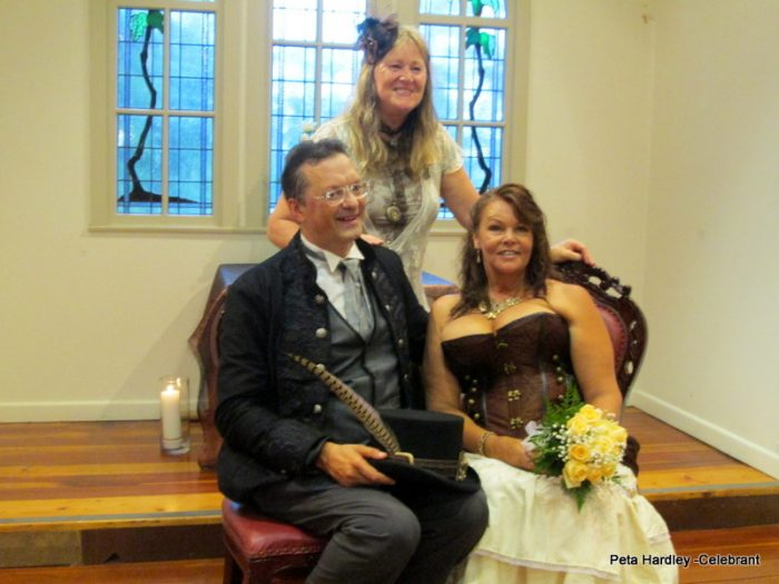 Rainer and Donnella's Steampunk Themed Wedding