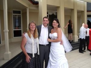 Sarah and Scott Dainty at Mahia Lodge