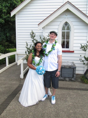 West Auckland Wedding Celebrant